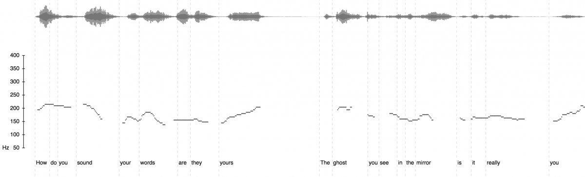 After Scansion: Visualizing, Deforming, and Listening to