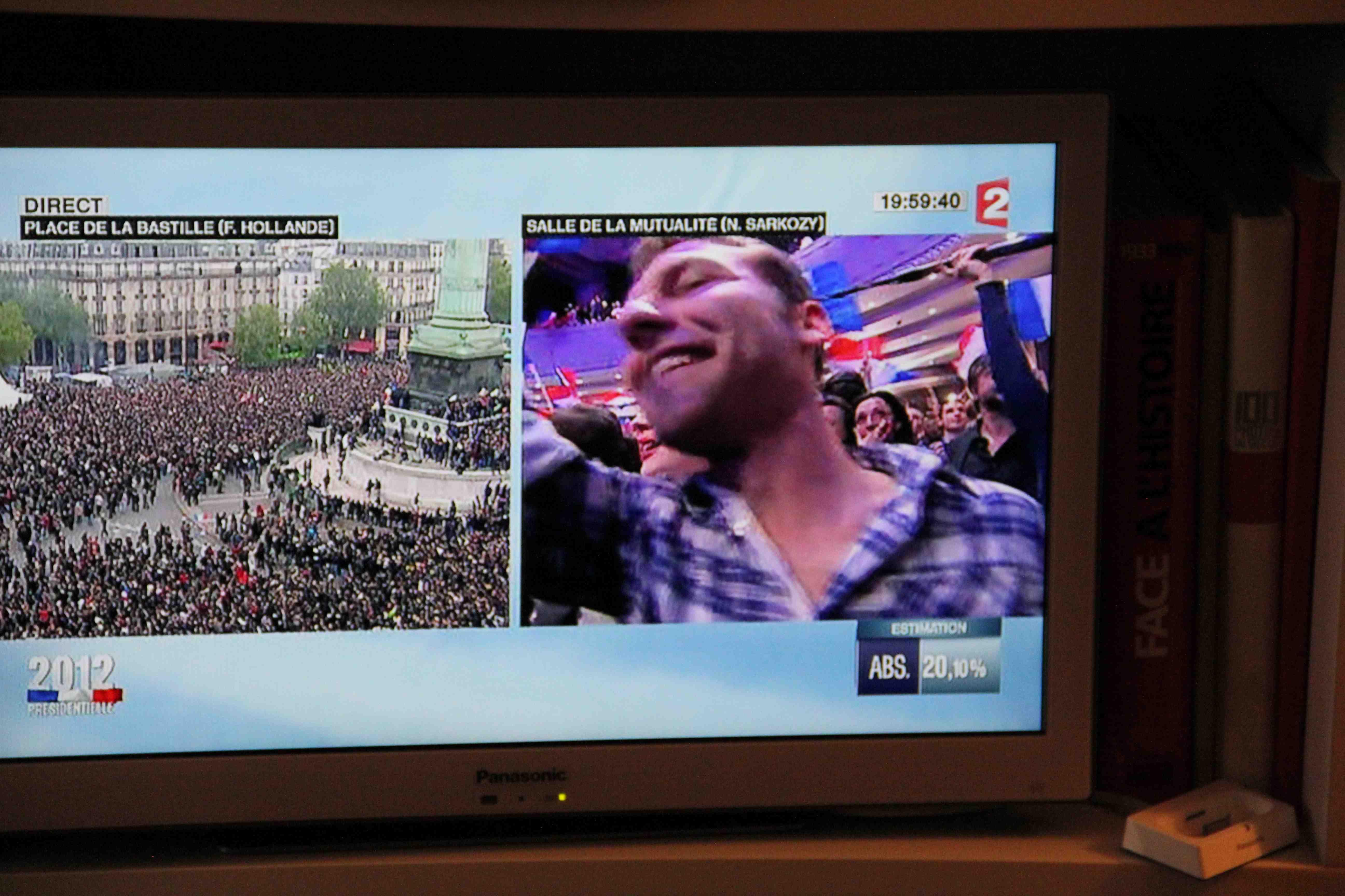 split screen image