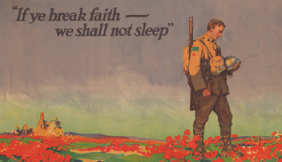 Remembrance Day and the Case of the $400,000,000 Poem